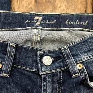7 For All Mankind Jeans - 7 For All Mankind Boot Cut Jeans Size 26